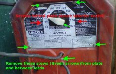 Refreshing Your Lincoln Ac 225 220V Tombstone Welder: 6 Steps   Lincoln 225 Arc Welder Wiring Diagram