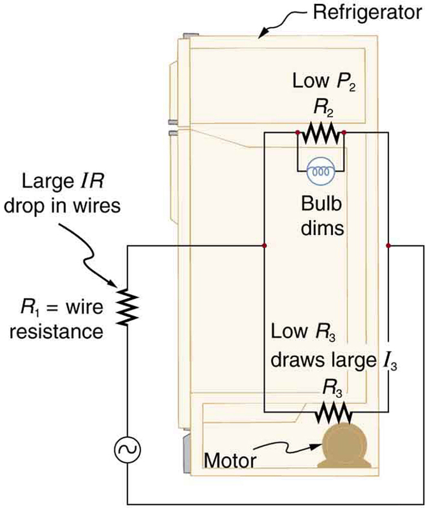 Resistors In Series And Parallel – College Physics - Parallel Wiring Diagram