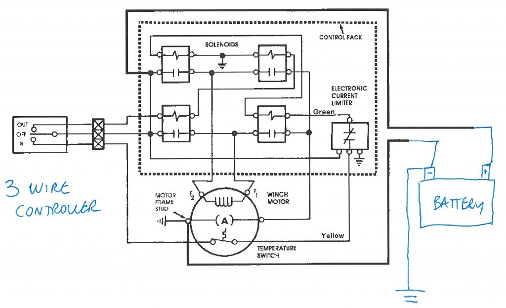 Reversing Solenoid Wiring Diagram | Wiring Library   12 Volt Winch Solenoid Wiring Diagram