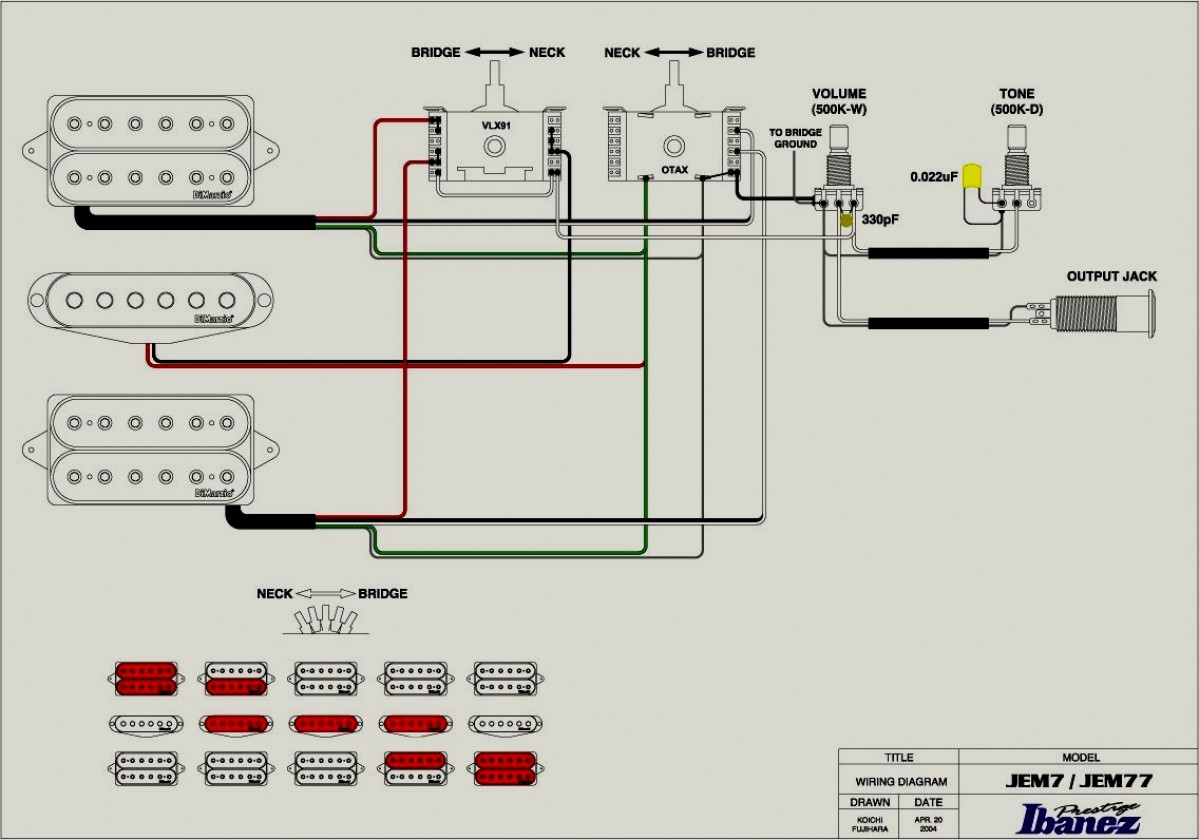 Rg Wiring Diagram | Manual E-Books - Ibanez Wiring Diagram