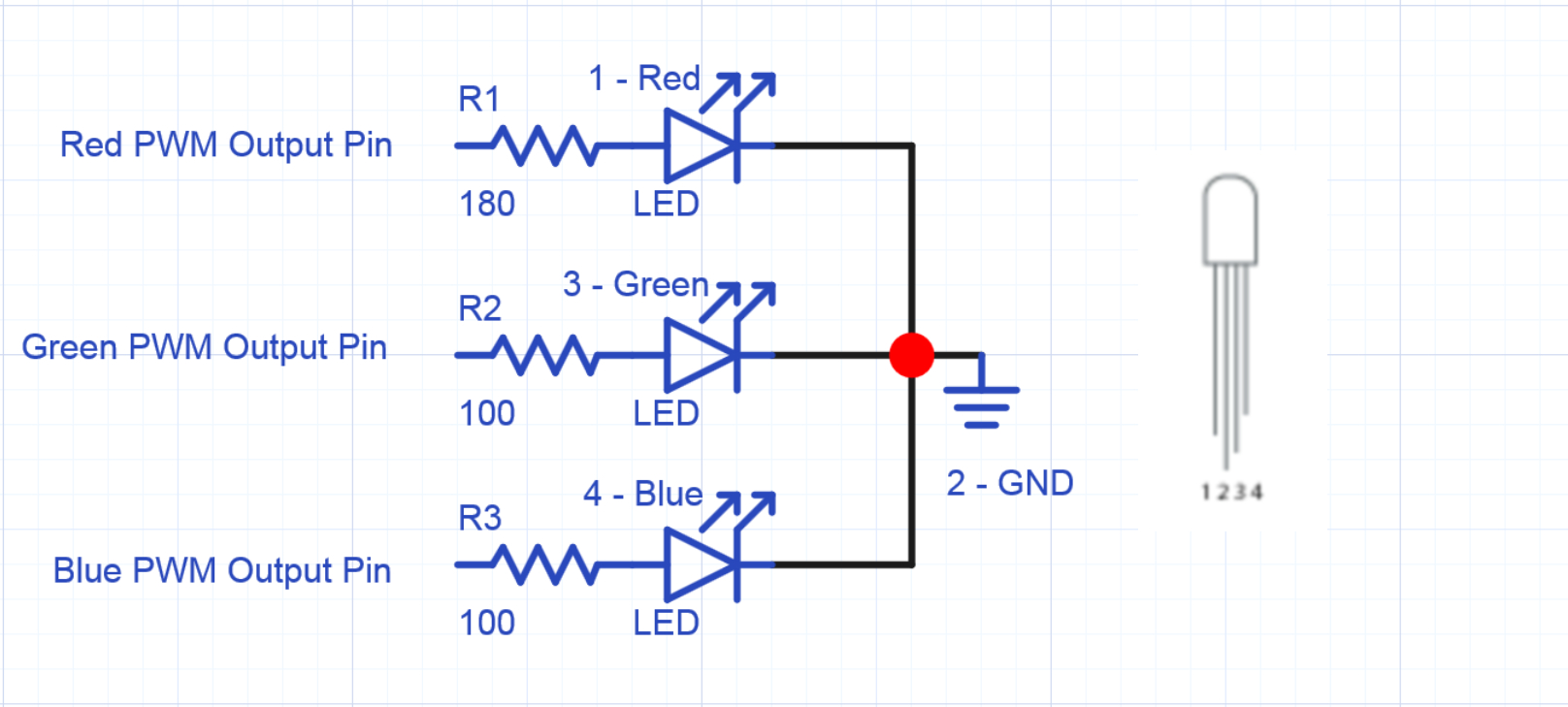 Rgb Led Wiring - Wiring Diagram Blog - Rgb Led Wiring Diagram