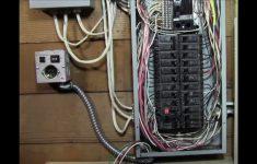 Ricksdiy How To Wire Generator Transfer Switch To A Circuit Breaker   Generator Transfer Switch Wiring Diagram