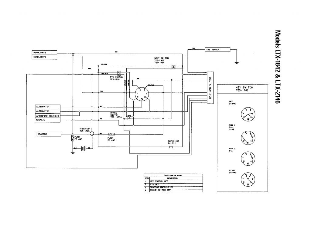Riding Lawn Mower Ignition Switch Wiring Diagram - Zookastar - Lawn Mower Ignition Switch Wiring Diagram