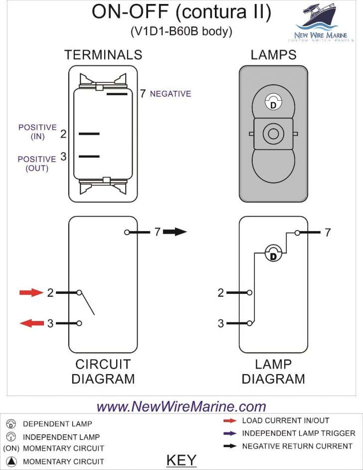 8 Pin Rocker Switch Wiring Diagram