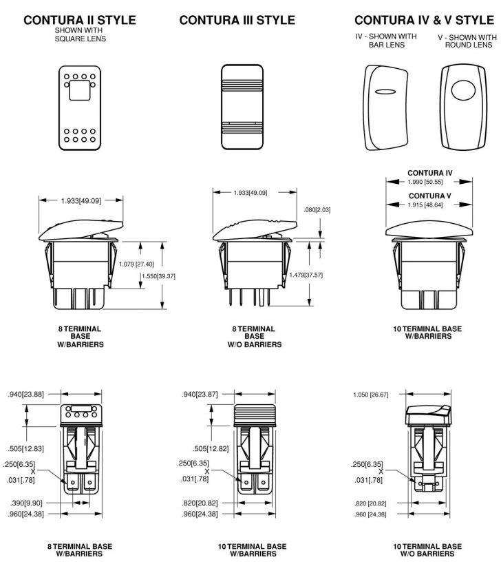 Carling Switches Wiring Diagram