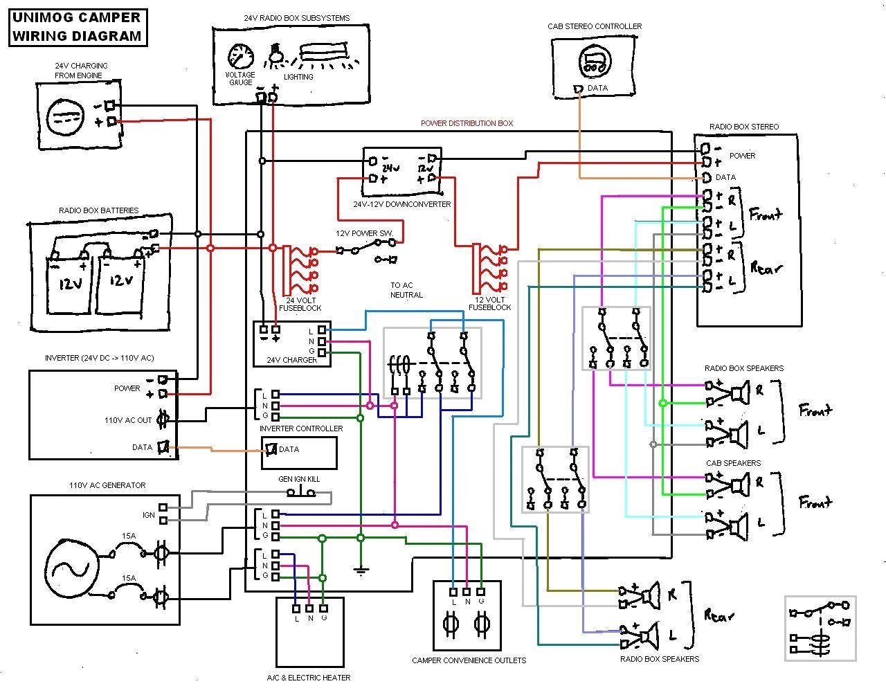 Rv 12V Electrical Wiring Diagram Lights | Wiring Diagram - 12 Volt Wiring Diagram For Lights