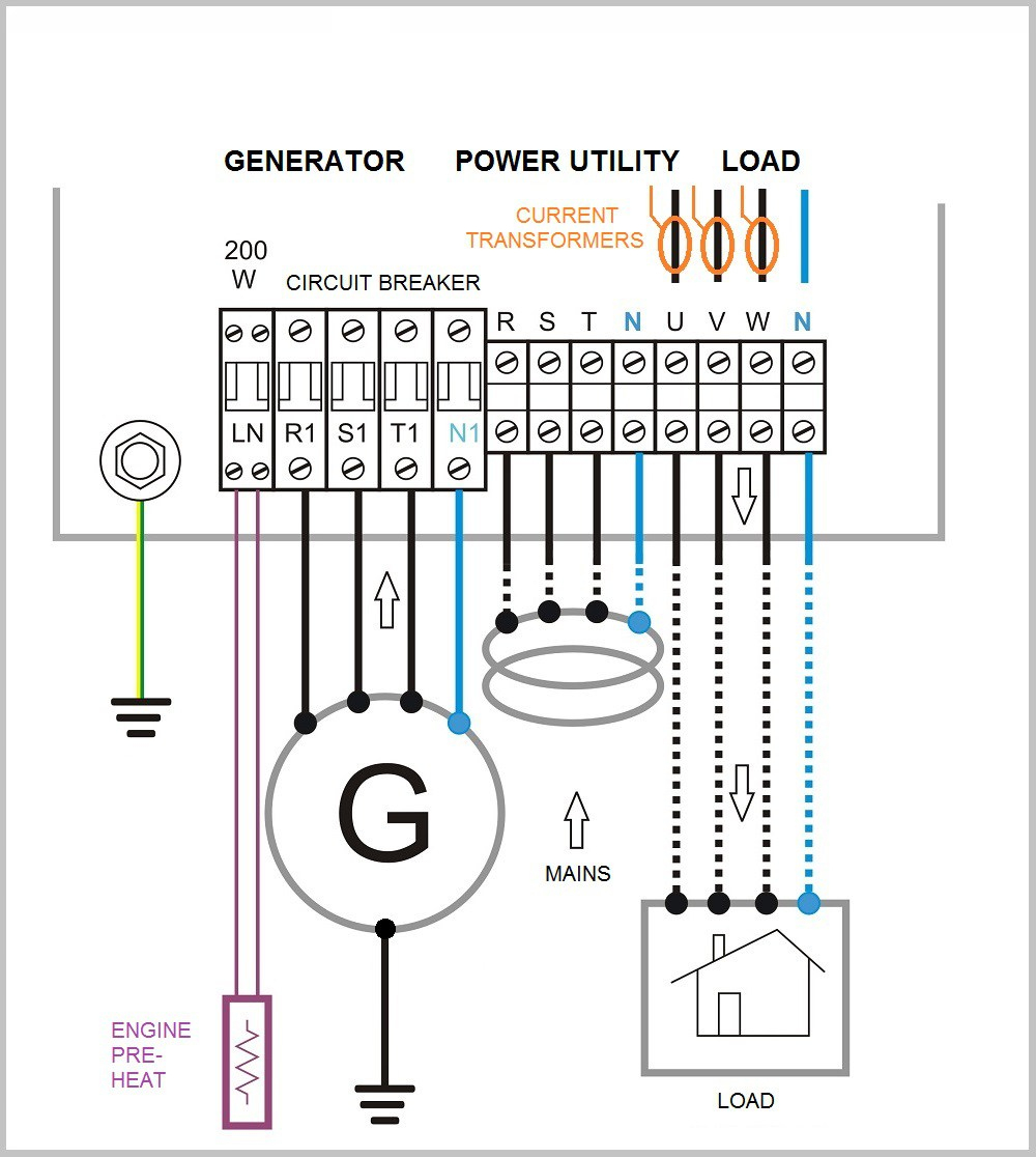 Rv Automatic Transfer Switch Wiring Diagram - Motherwill - Rv Automatic Transfer Switch Wiring Diagram