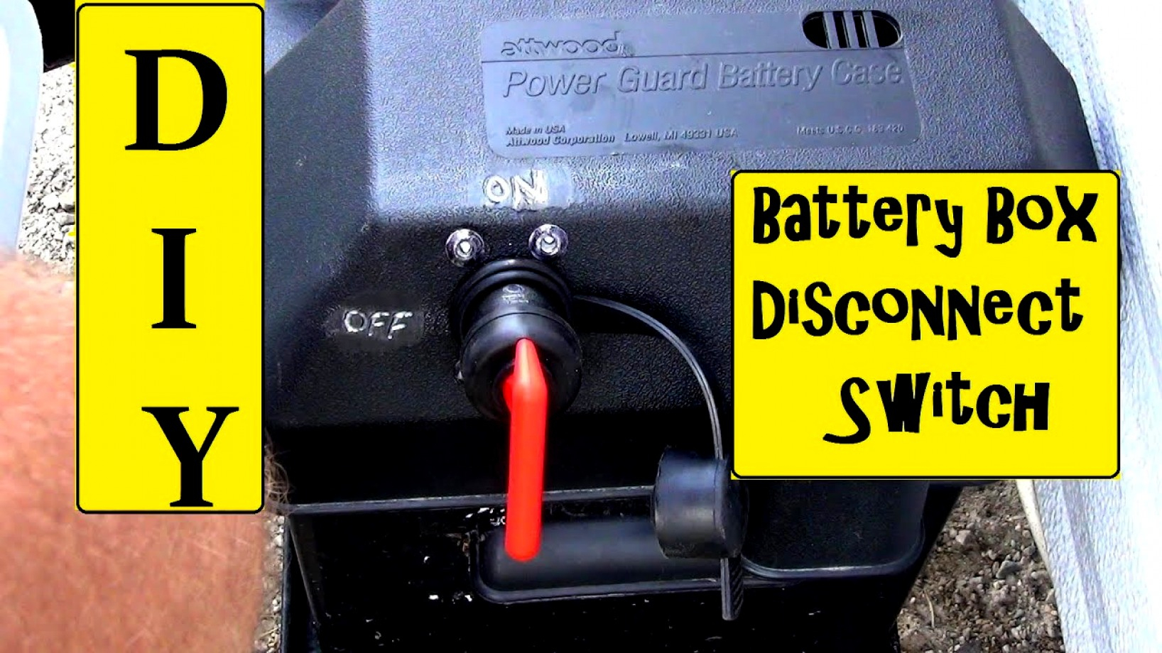 Superb Rv Battery Disconnect Switch Wiring Diagram Simple Wiring Diagram Wiring 101 Tzicihahutechinfo