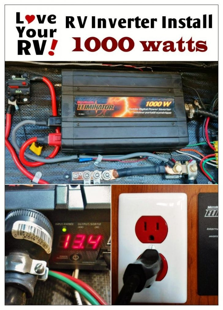 Rv Power Inverter Wiring Diagram