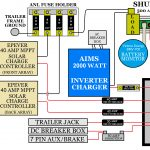 Rv Off Grid Set Up (Travel Trailer Install)   Rv Solar Wiring Diagram