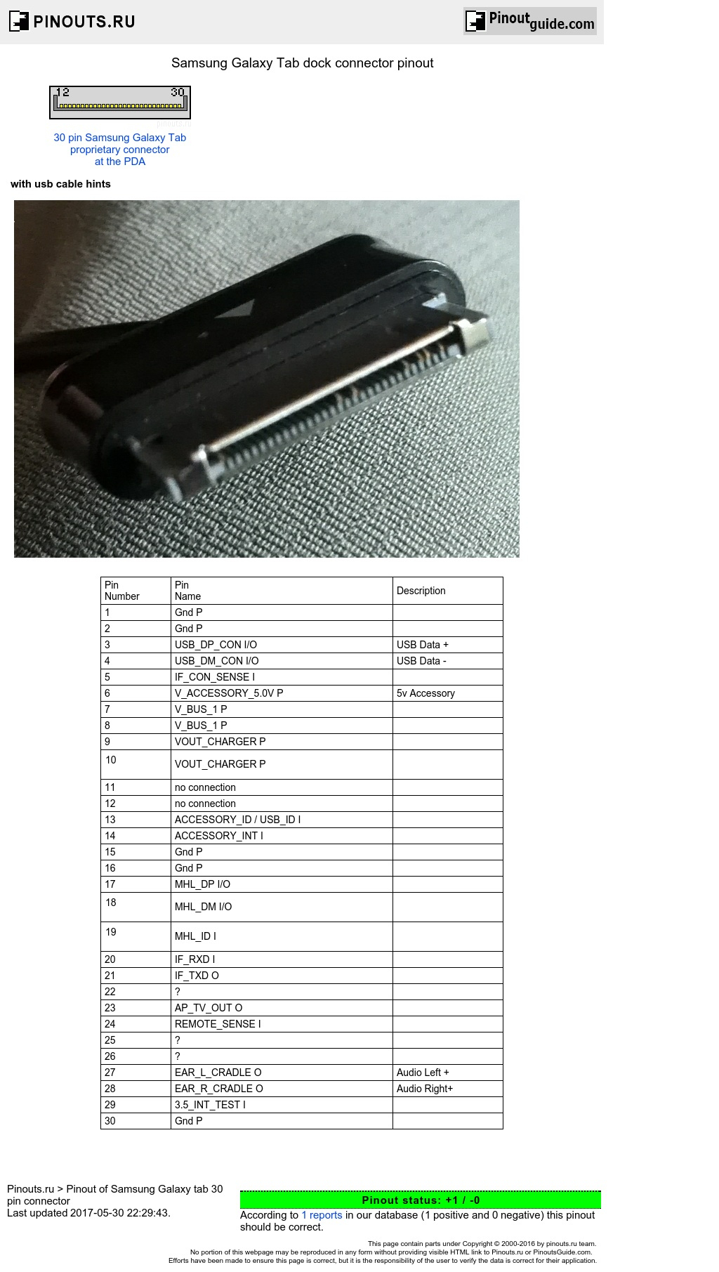 Samsung Galaxy Tab Dock Connector Pinout Diagram @ Pinoutguide - Samsung Galaxy Tab 2 Charger Wiring Diagram