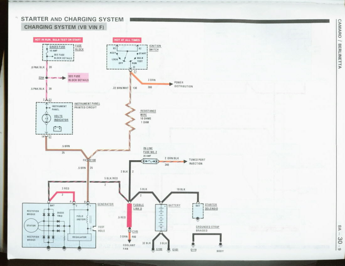 Sb Chevy Wiring Diagram For 85 | Wiring Library - Toyota Alternator Wiring Diagram