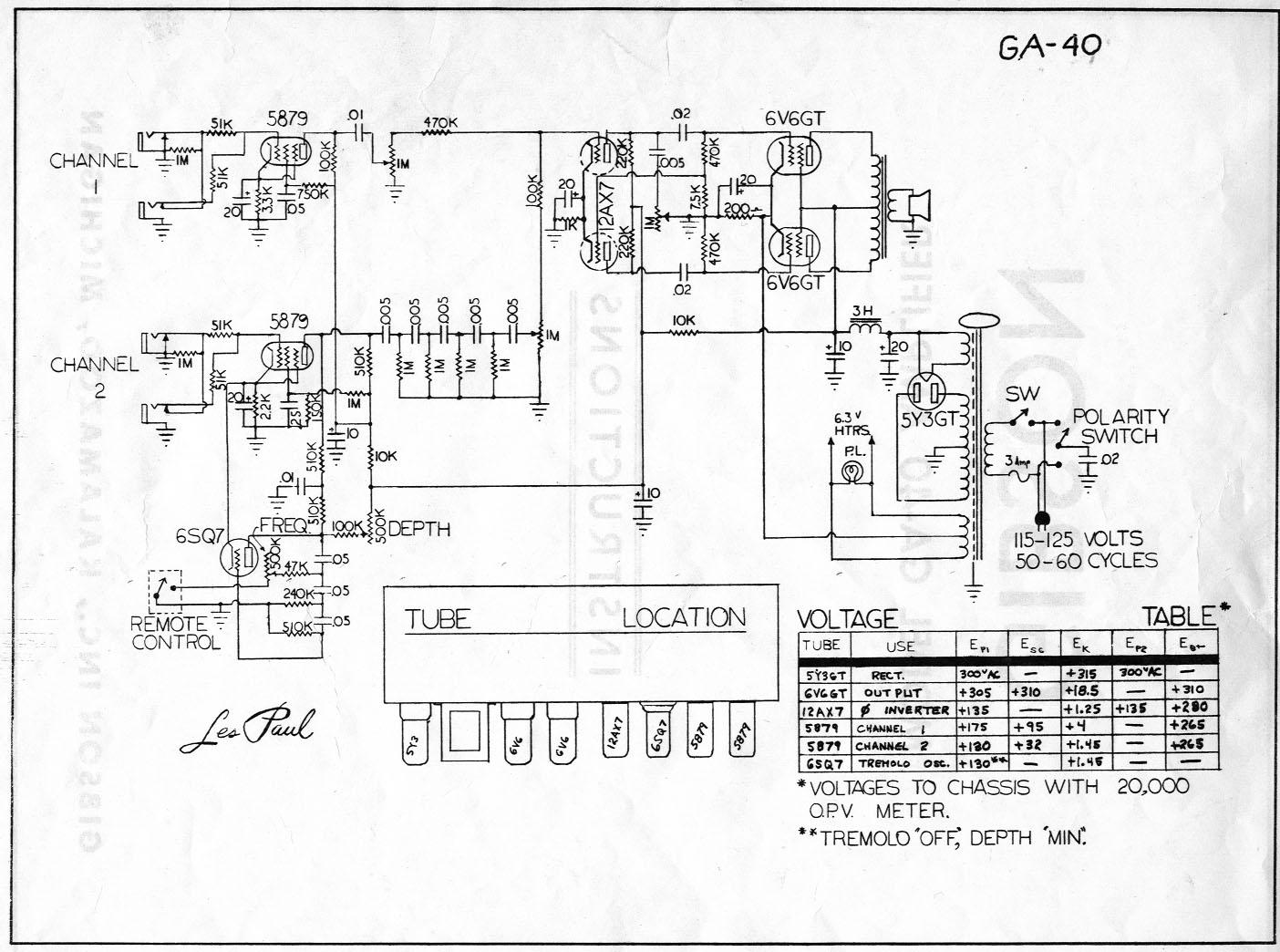 Schematics - Gibson Sg Wiring Diagram