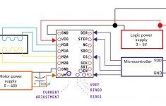 Schematics – How Do I Wire A Tmc2130 Stepper Motor Driver To An – Stepper Motor Wiring Diagram