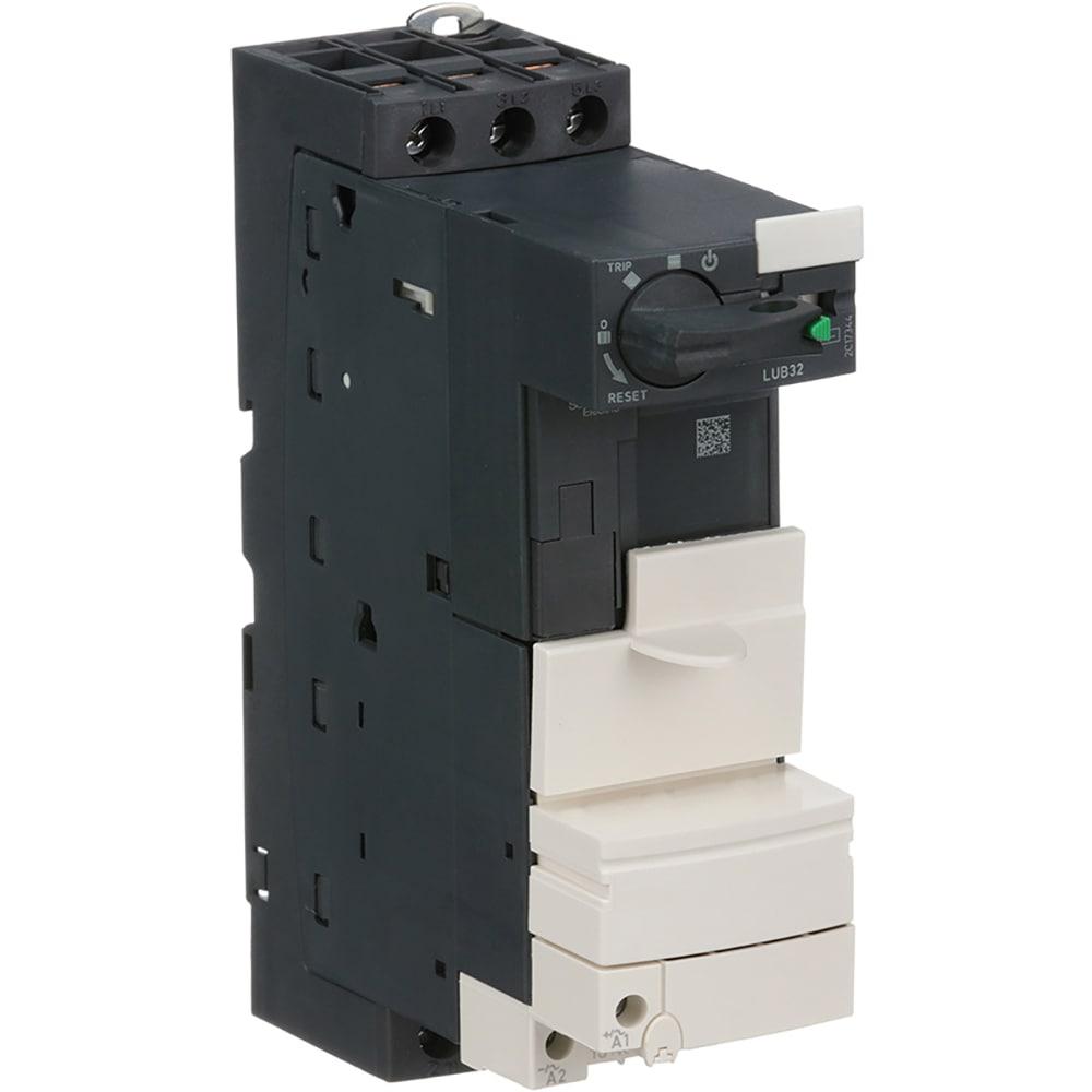 Schneider Electric - Lub32 - Tesys U Non-Reversing Motor Starter - Electric Motor Wiring Diagram 220 To 110