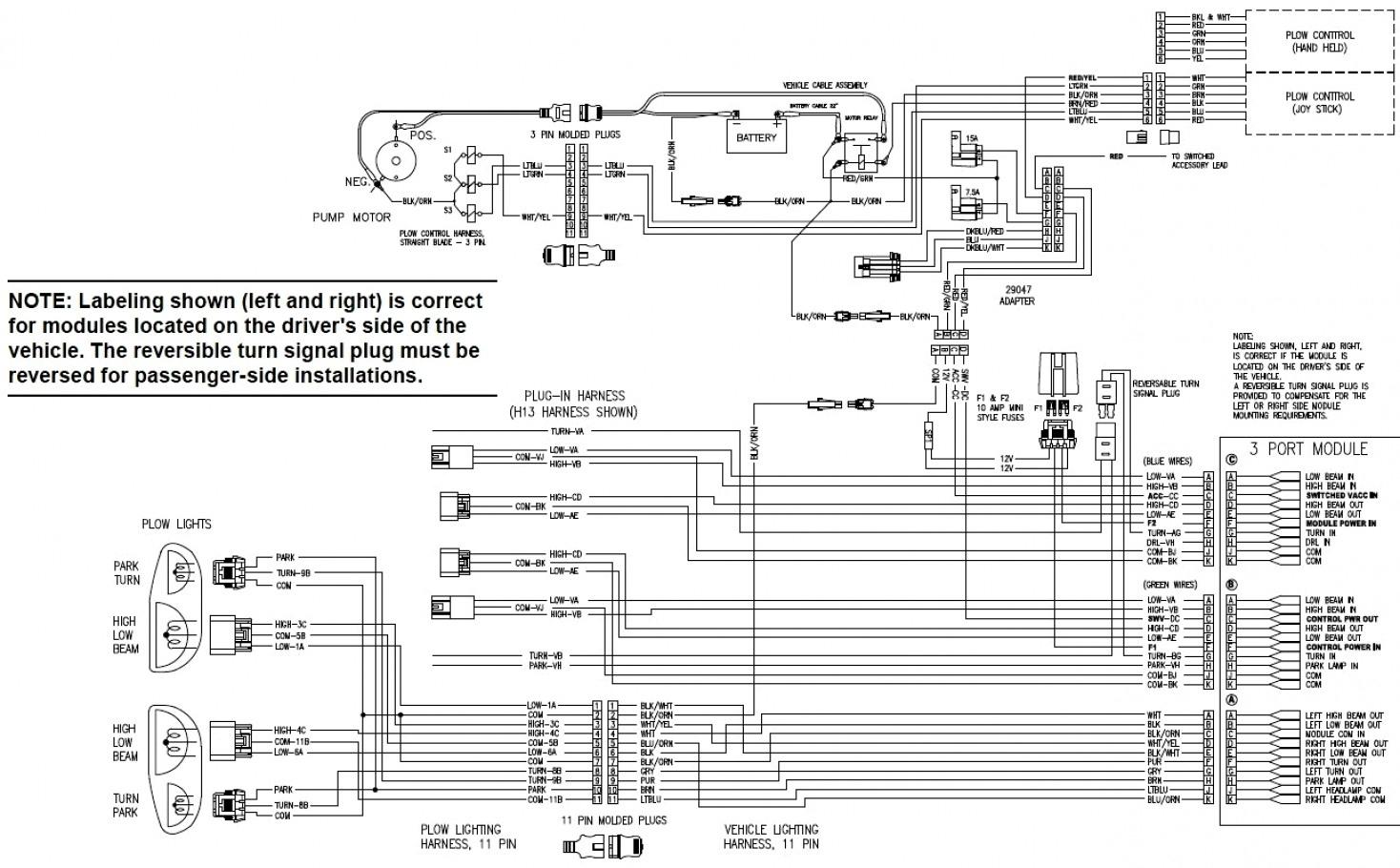 Seven Pin Wiring Diagram Western Plow   Wiring Diagram - Western Plow Solenoid Wiring Diagram