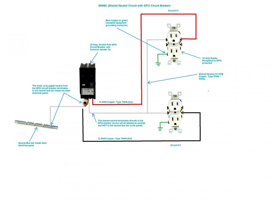Siemens 2 Pole Gfci Breaker Wiring Diagram | Wiring Diagram - Double