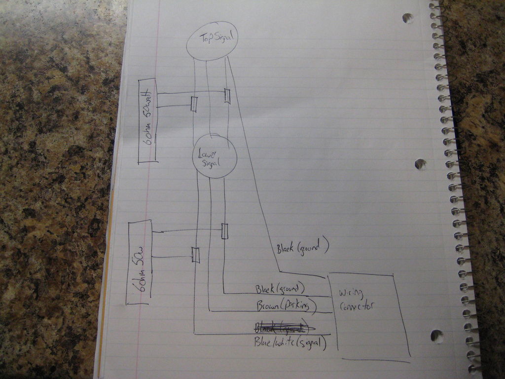 Silveradosierra • Led Load Resistor Wiring Confusion - Led Load Resistor Wiring Diagram
