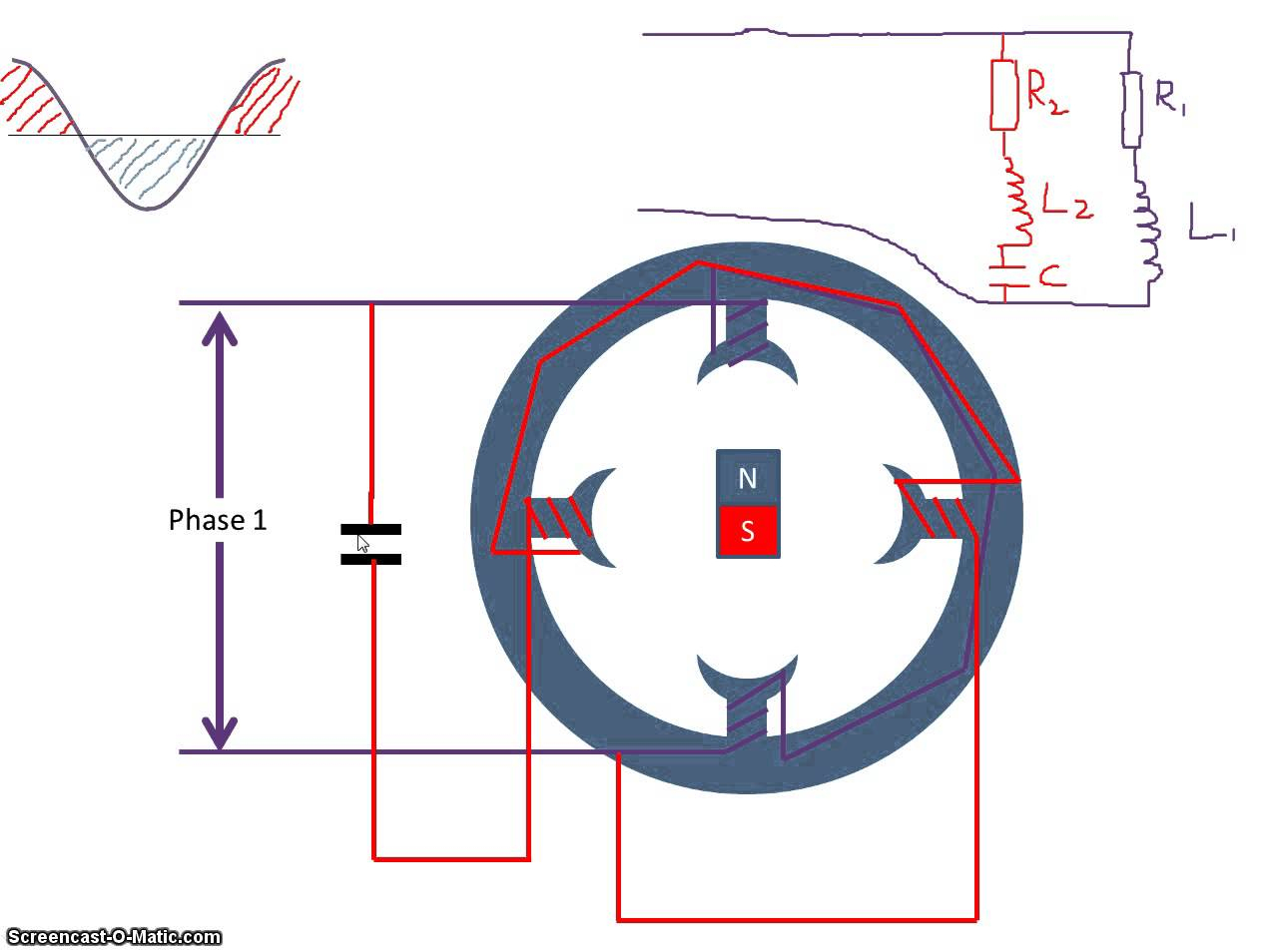 Single Phase Capacitor Start Run Motor Wiring Diagram To Glamorous - Capacitor Start Capacitor Run Motor Wiring Diagram