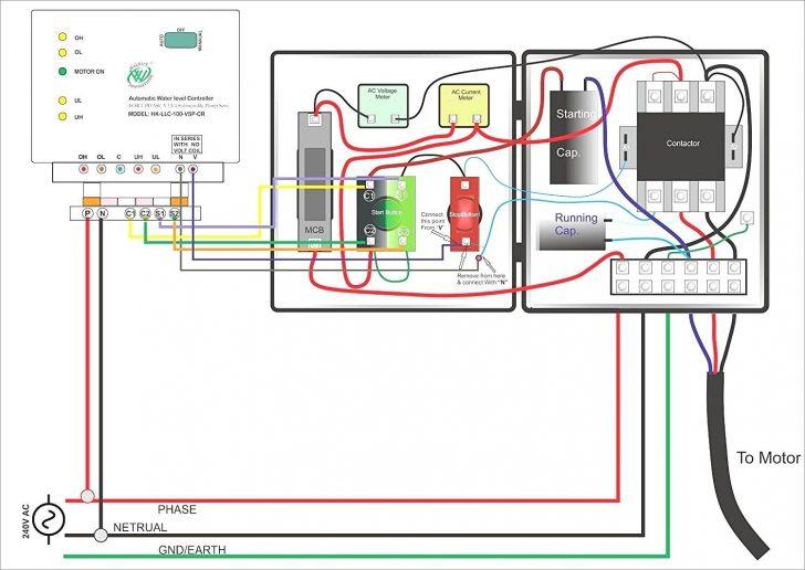 single phase motor wiring diagram forward reverse