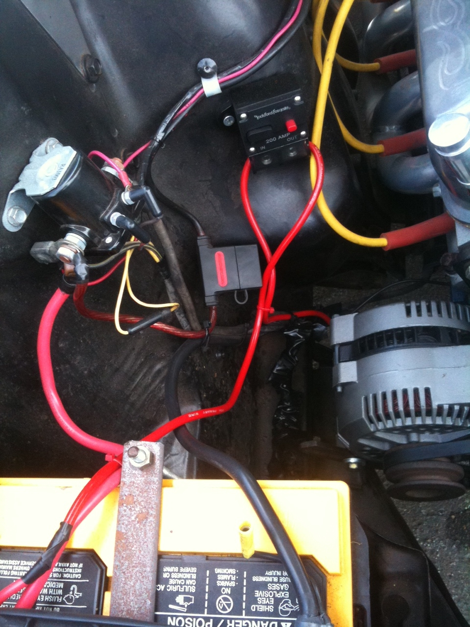 Single Wire Alternator Install On A 1966 Mustang Problems? - Ford - One Wire Alternator Wiring Diagram