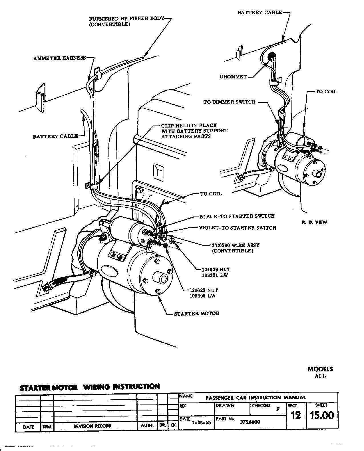 Small Block Chevy Starter Wiring Diagram | Wiring Diagram - Starter Solenoid Wiring Diagram Chevy
