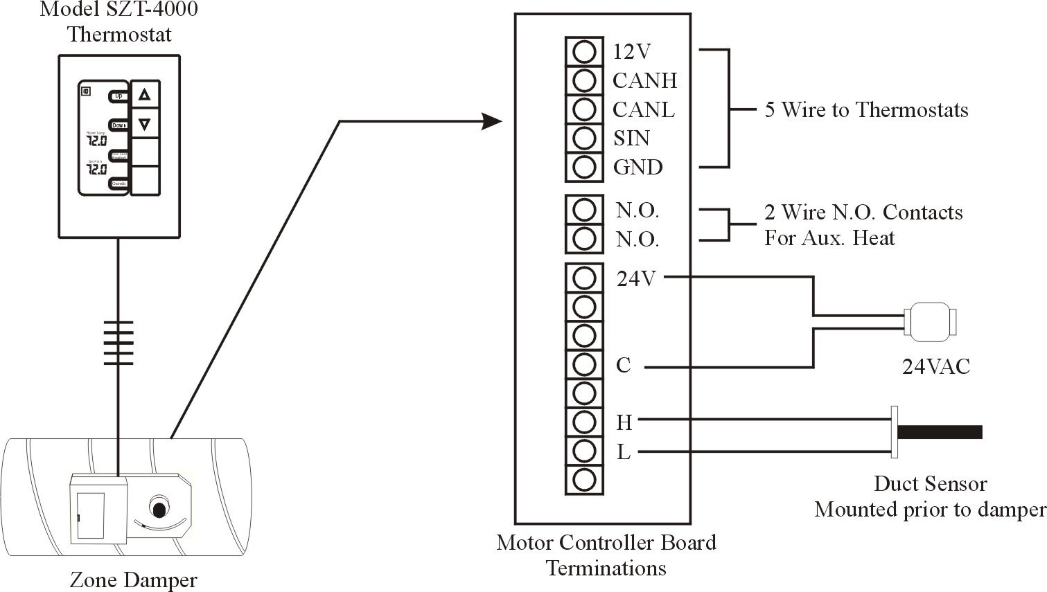 Smoke Detector 2151 Wiring Diagram | Manual E-Books - Smoke Detector Wiring Diagram