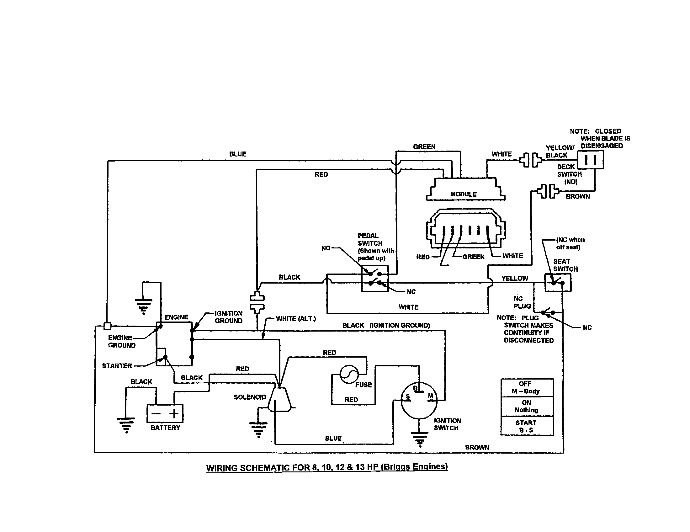 Snapper Model 301016Be Lawn, Riding Mower Rear Engine Genuine Parts - Mtd Riding Lawn Mower Wiring Diagram