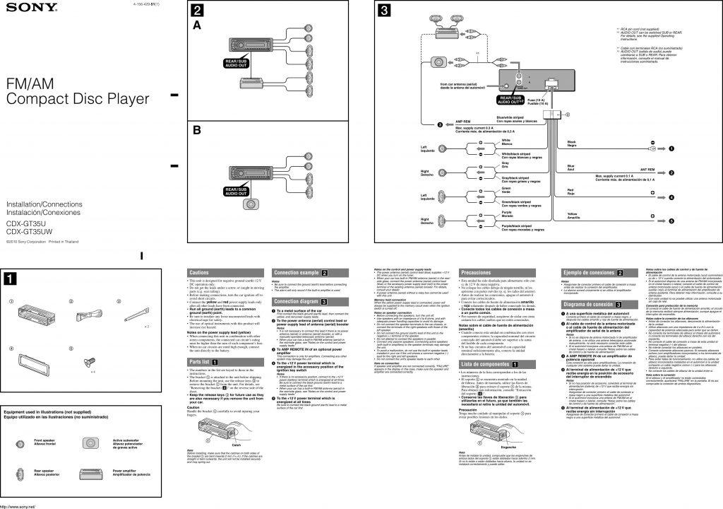 Incredible Sony Xplod Car Stereo Wiring Diagram Wirings Diagram Wiring Digital Resources Almabapapkbiperorg