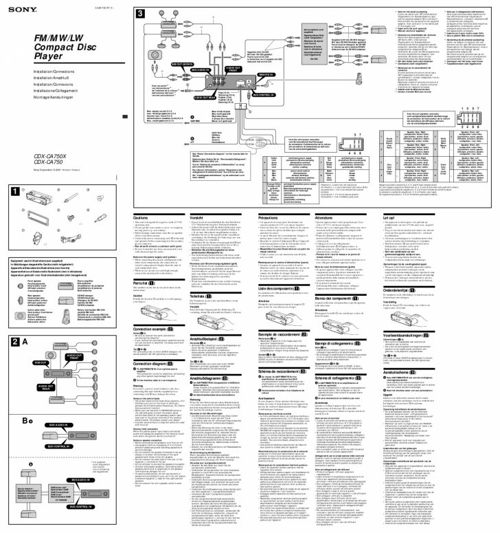 Sony Explod Wiring Diagram
