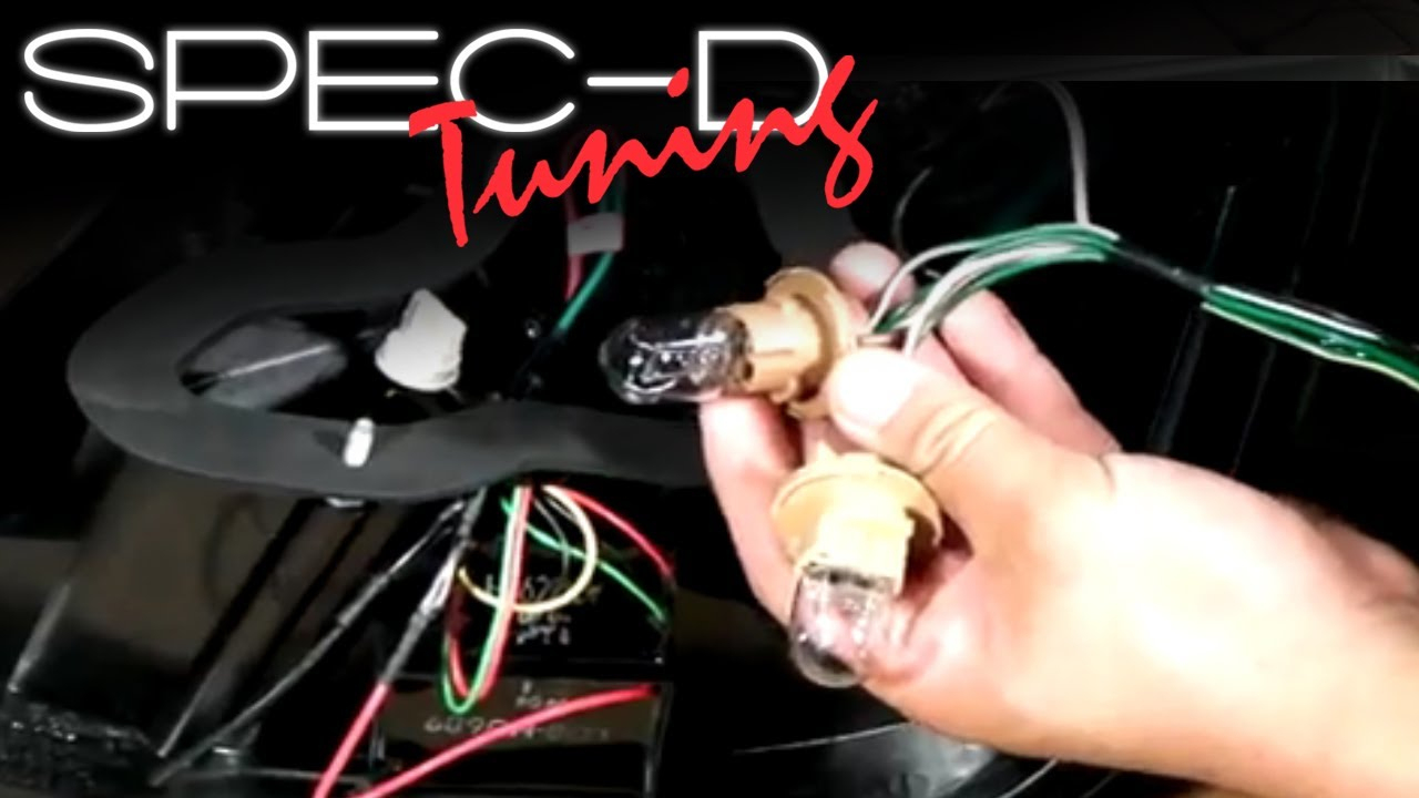 Specdtuning Installation Video: Led Tail Lights Wiring Installation - Led Tail Lights Wiring Diagram