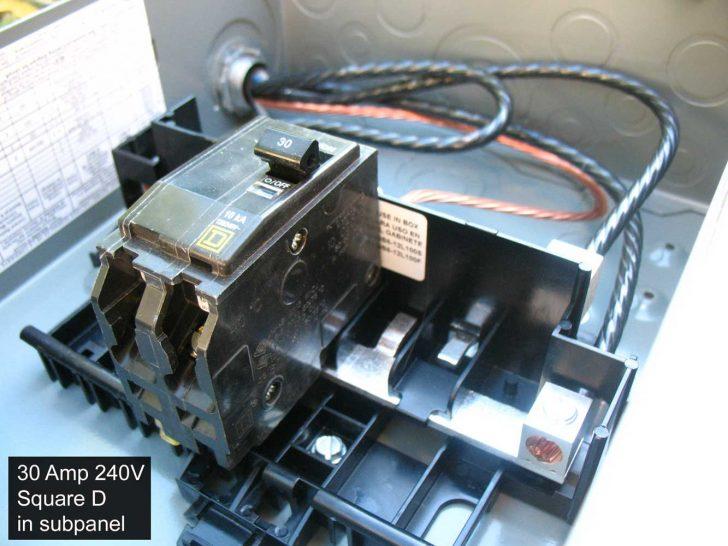Square D Breaker Box Wiring Diagram
