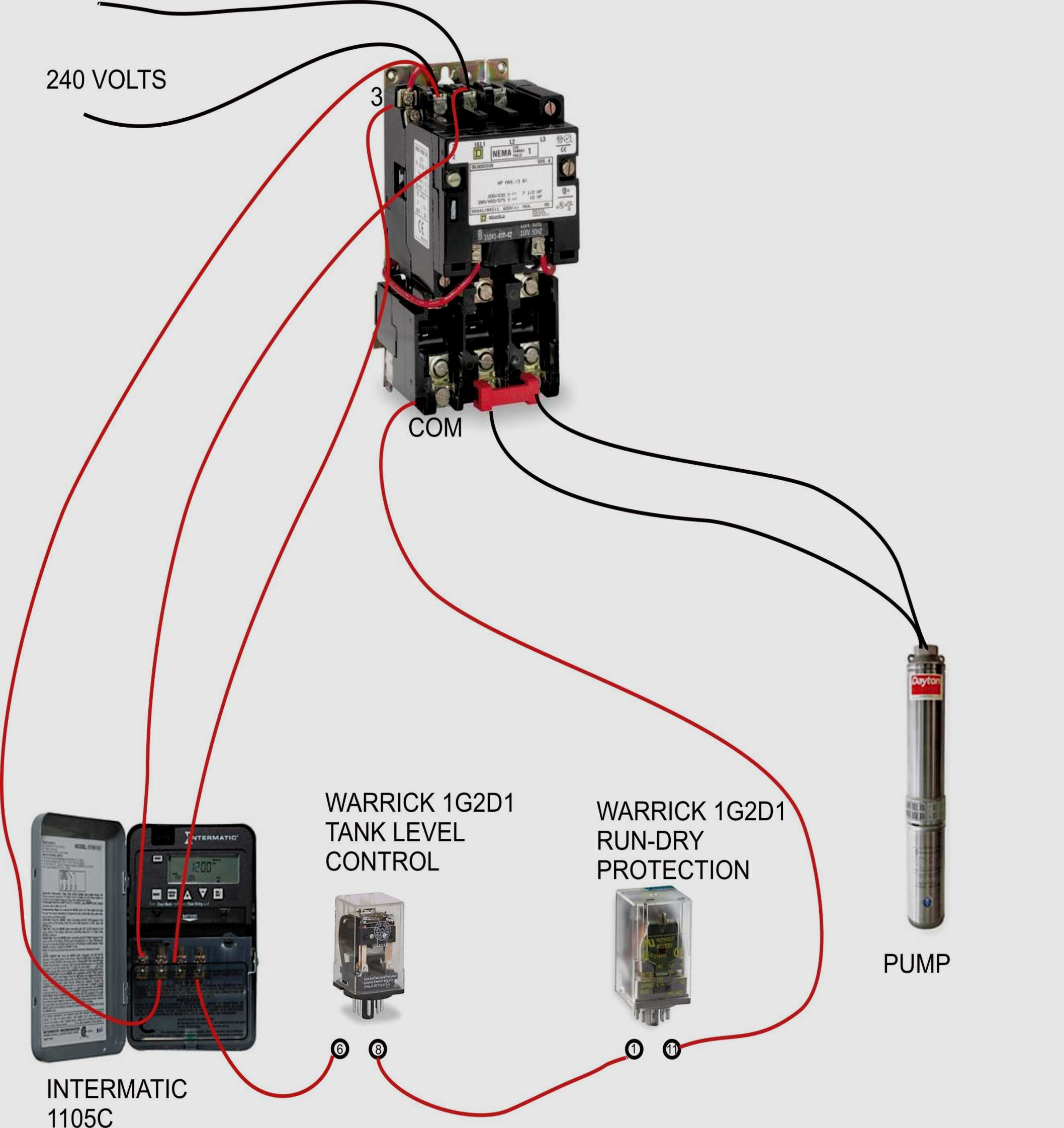 Square D Lighting Contactor Wiring Diagram   Wiring Diagram - Square D Motor Starter Wiring Diagram