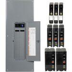 Square D Qo 200 Amp 42 Space 42 Circuit Indoor Main Breaker Plug On   Square D Qo Load Center Wiring Diagram