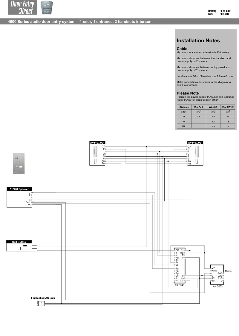 Srs Wiring Diagrams - Phone Wiring Diagram