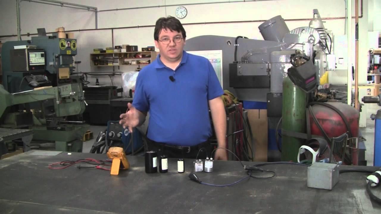 Start Capacitors & Run Capacitors For Electric Motors - Differences - Electric Motor Capacitor Wiring Diagram