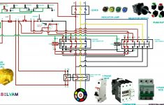 Start Stop Wiring Diagram 3 Phase With Contactor | Wiring Diagram   Motor Starter Wiring Diagram Start Stop