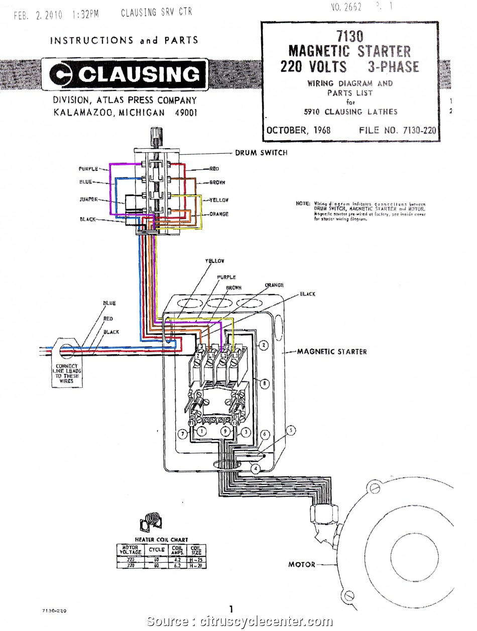 Start Stop Wiring Diagram 3 Phase With Contactor   Wiring Diagram - Motor Starter Wiring Diagram Start Stop