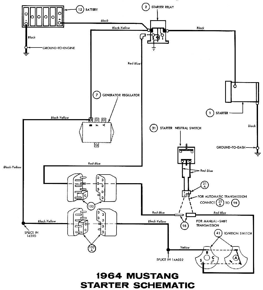 Starter Relay Switch Wiring Diagram | Wiring Diagram - Ford Starter Solenoid Wiring Diagram