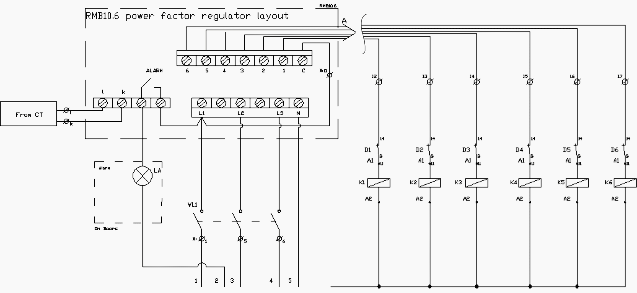 Step-By-Step Tutorial For Building Capacitor Bank And Reactive Power - Ac Capacitor Wiring Diagram