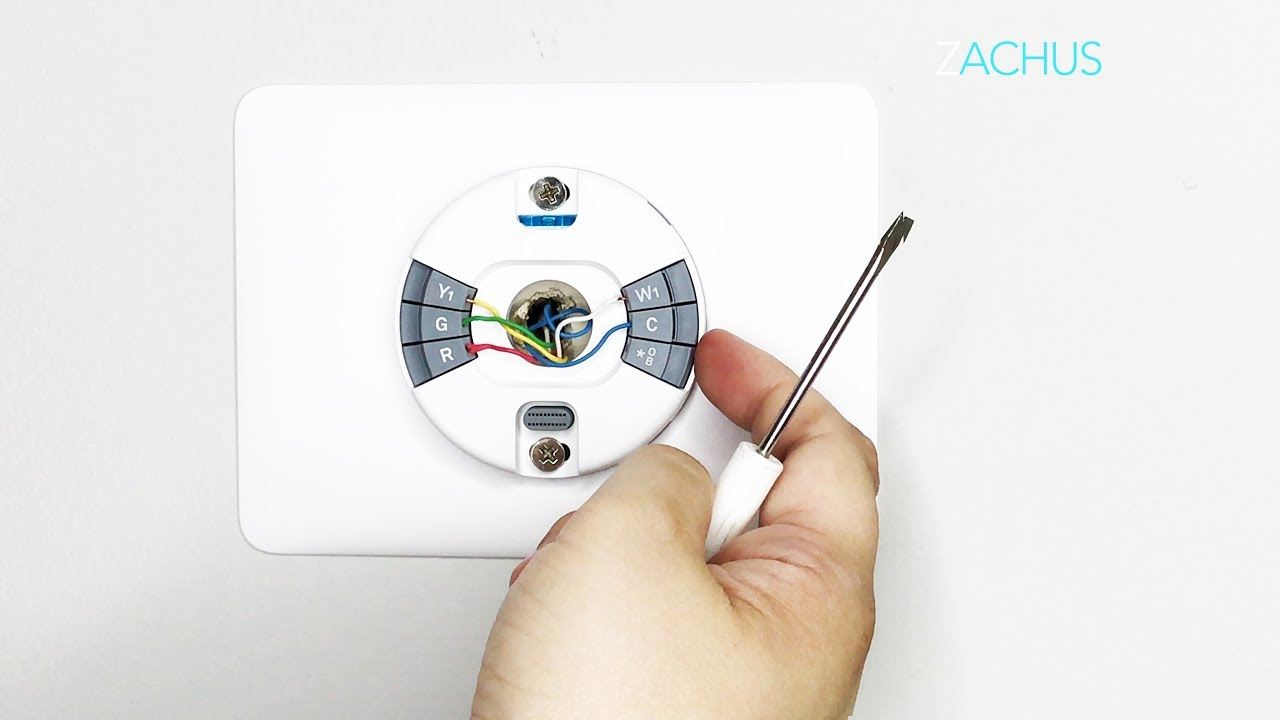 Stepstep Install Of The New Nest Thermostat E - Youtube - Nest E Wiring Diagram