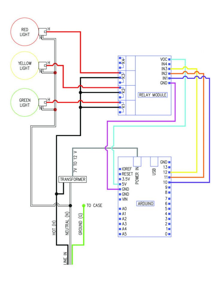 Stop/turn/tail Light Wiring Diagram