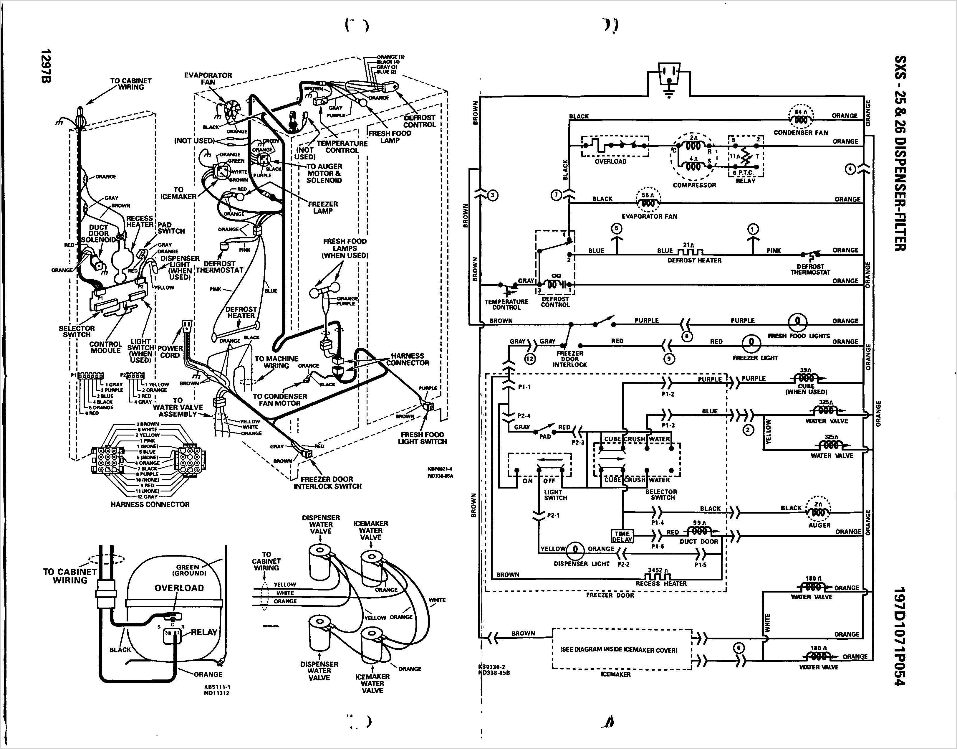 Stove Schematic Wiring Diagram | Wiring Diagram - Ge Refrigerator Wiring Diagram