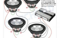 Subwoofer Wiring Diagrams — How To Wire Your Subs   Subwoofer Wiring Diagram Dual 2 Ohm