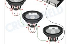 Subwoofer Wiring Diagrams — How To Wire Your Subs   Subwoofer Wiring Diagram Dual 4 Ohm