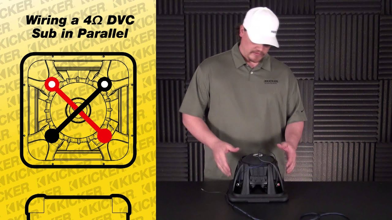 Marvelous Subwoofer Wiring One 4 Ohm Dual Voice Coil Sub In Parallel Wiring Digital Resources Jebrpcompassionincorg