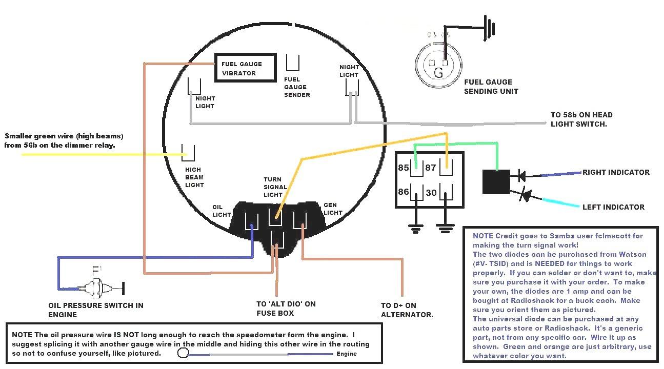 Sun Super Tach Wiring Diagram | Manual E-Books - Sun Super Tach 2 Wiring Diagram