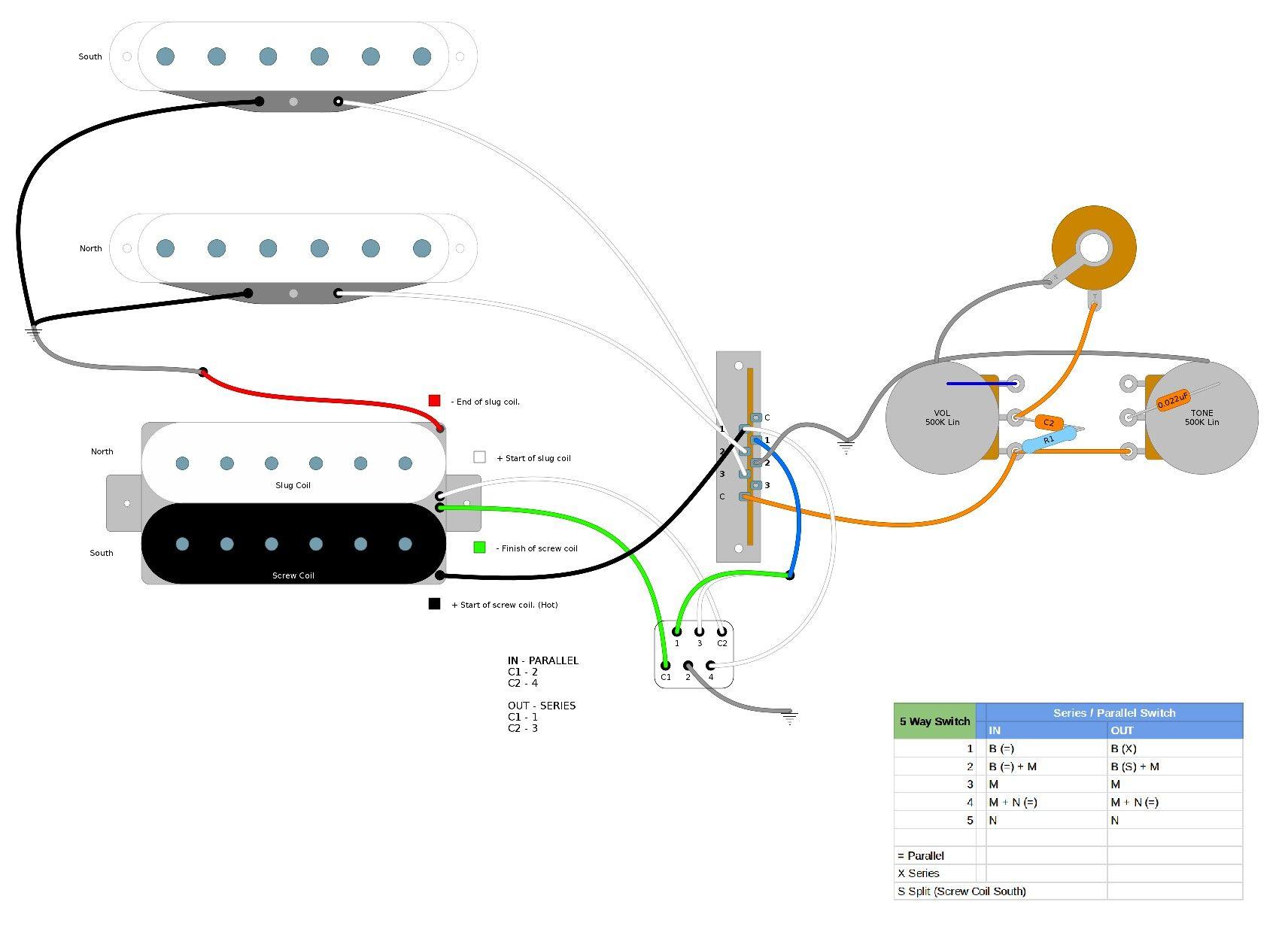 Super Strat Wiring Schematic | Wiring Library - Hss Wiring Diagram