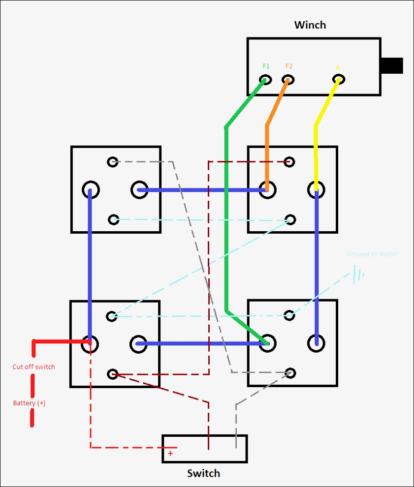 Superwinch Solenoid Wiring Diagram 2 | Wiring Diagram - Warn Winch Wiring Diagram 4 Solenoid
