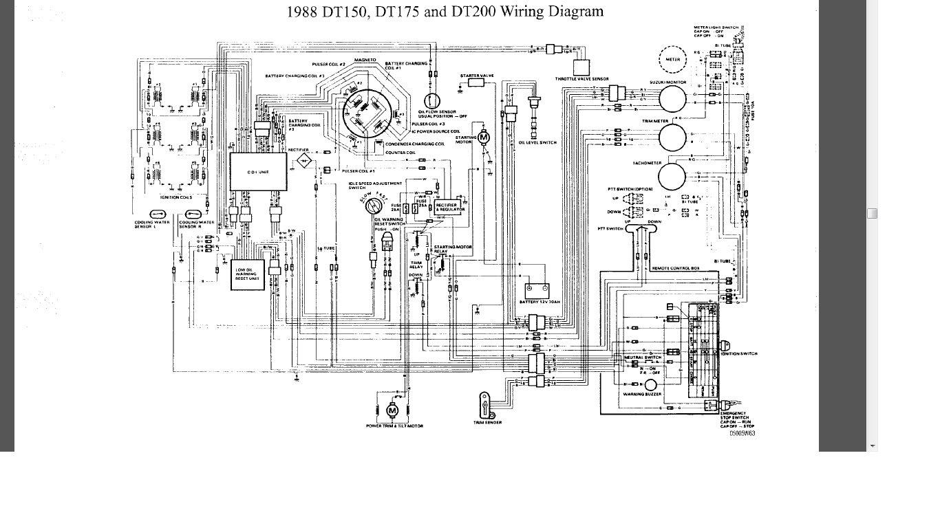 Suzuki Na12S Wiring Diagram | Wiring Library - Suzuki Outboard Ignition Switch Wiring Diagram